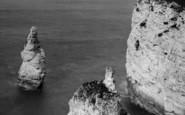 Flamborough, King And Queen Rocks c.1881