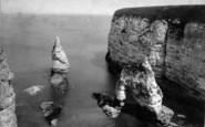 Flamborough, King And Queen Rocks c.1885