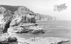 Flamborough, Little Thornwick Bay 1959
