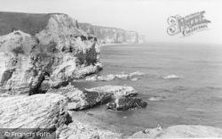 Flamborough, Little Thornwick Bay And Bempton Cliffs 1959