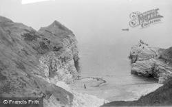 Flamborough, Little Thornwick Bay c.1932