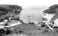 Flamborough, North Landing 1927