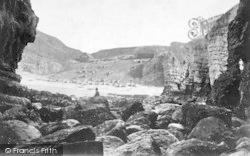 Flamborough, North Landing c.1875