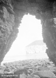 Flamborough, North Landing, Natural Arch c.1932