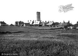 Flamborough, Old Tower And Village c.1932