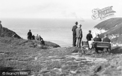 Flamborough, On The Cliff, North Landing c.1932