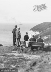 Flamborough, On The Cliff, North Landing c.1932