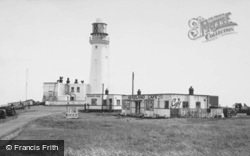 The Cafe And Lighthouse 1954, Flamborough