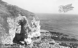 Flamborough, The Cliffs, North Landing 1959