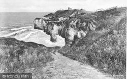 Flamborough, The Path To The Beach c.1932