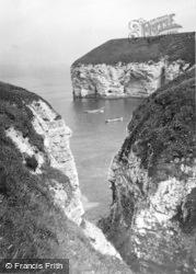 Flamborough, The Ravine, North Landing c.1932