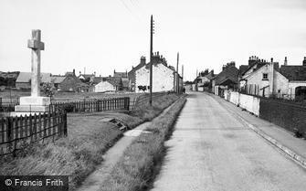 Flamborough, the War Memorial 1954
