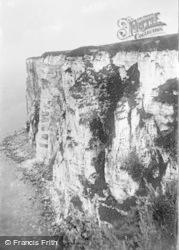 Flamborough, West Bempton Cliffs c.1932