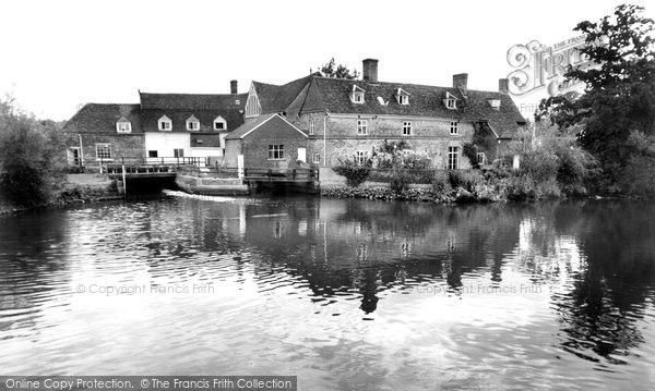 Flatford,Mill c1960,Suffolk