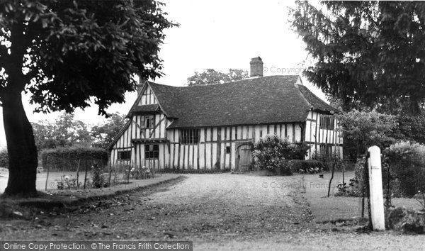 Photo of Flatford, The Manor House c.1960