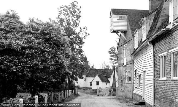 Flatford,the Mill and Willy Lotts Cottage c1955,Suffolk