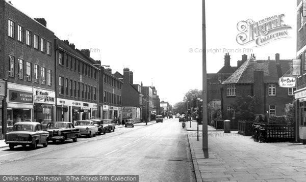 Photo of Fleet, Fleet Road c1965