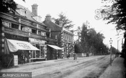 Fleet, Fleet Road, Post Office 1907