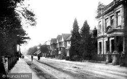 Fleet, Fleet Road, The Bank 1907
