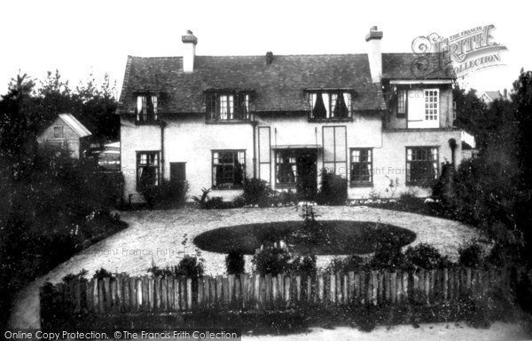 Photo of Fleet, Nurses Home 1908