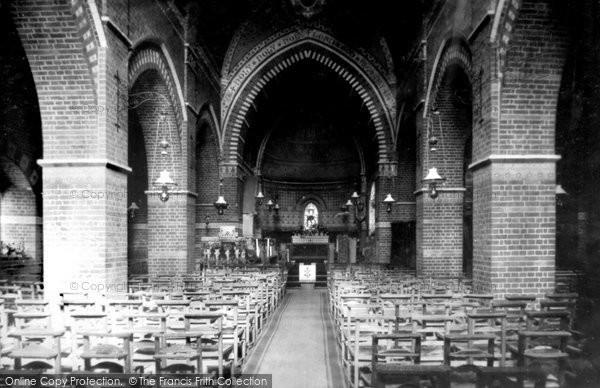 Photo of Fleet, Parish Church Interior 1903