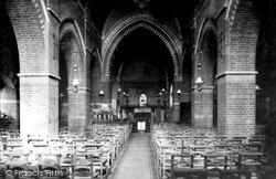 Fleet, Parish Church Interior 1903