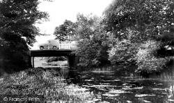 Fleet, Pondtail Bridge c.1965