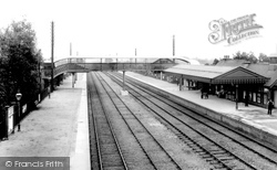 Fleet, Railway Station 1904