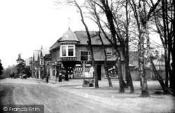 Fleet, Reading Road South From Oatsheaf Crossroads 1907