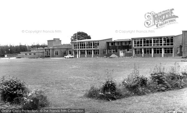 Photo of Fleet, Secondary School c1965