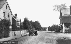 Fleet, Station Road 1908
