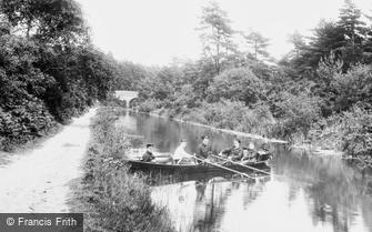 Fleet, the Basingstoke Canal 1908