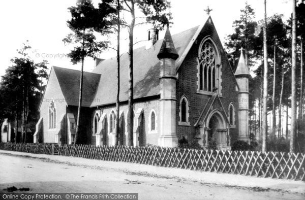 Photo of Fleet, the Wesleyan Church 1903