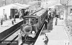 Bluebell And Chesham Set In Sheffield Park Station c.1965, Fletching