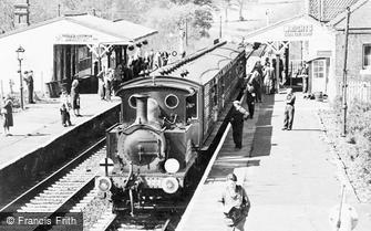 Fletching, Bluebell and Chesham Set in Sheffield Park Station c1965