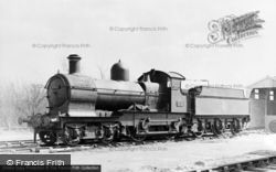 Fletching, Bluebell Railway, 'dukedog' c.1965