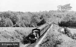 Bluebell Railway, En Route To Horsted Keynes c.1965, Fletching