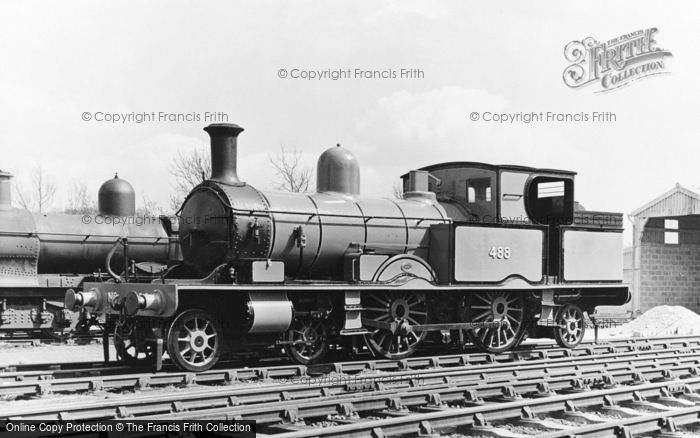 Photo of Fletching, Bluebell Railway, Lswr Adams Radial 4 4 2 Tank c.1965