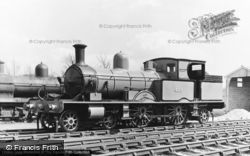 Fletching, Bluebell Railway, LSWR Adams Radial 4-4-2 Tank c1965