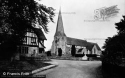 Fletching, Church Of St Andrew And St Mary c.1950