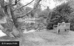 Sheffield Park Lake c.1965, Fletching