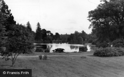 Sheffield Park, View From The House c.1955, Fletching