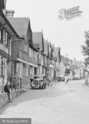 The Village From The Church c.1950, Fletching