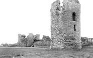 Flint, Castle c1950