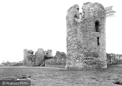 Flint, Castle c.1950