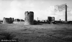 Flint, Castle c.1965