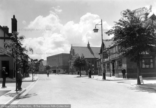 Flint, Church Street c1950