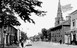 Flint, Church Street c.1950