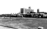 Flint, Courtauld's Mill c1950
