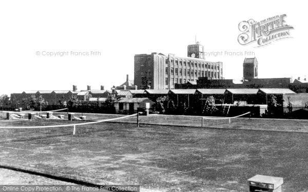 Flint,Courtauld s Mill c1955,Clwyd